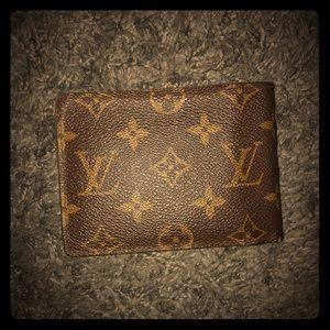 Authentic Louis Vuitton wallet — worn